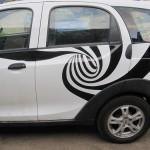 рисунок на машину