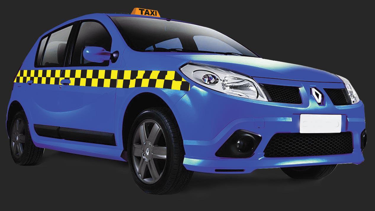 Брендирование автомобилей такси